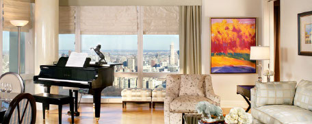 Shannon Hall Designs, Time Warner Condo, Columbus Circle, New York, NY